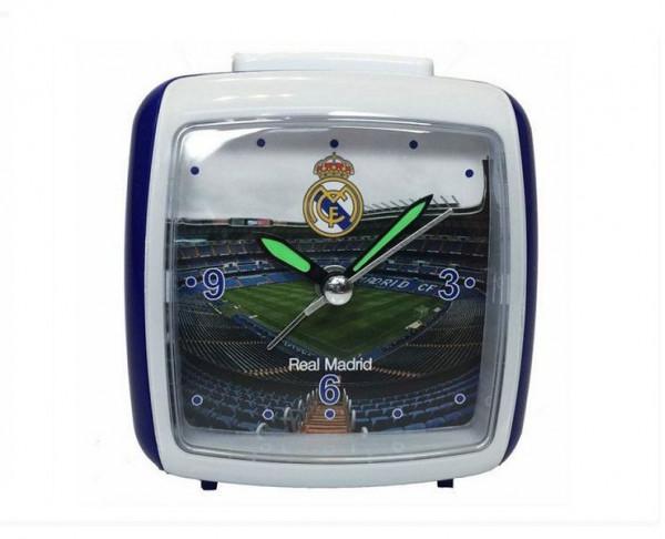 Despertador del Real Madrid cuadrado silencioso