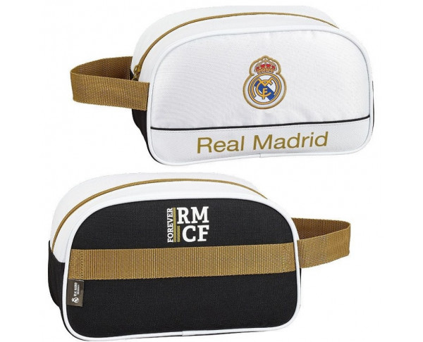 Neceser mediano con asa Real Madrid...