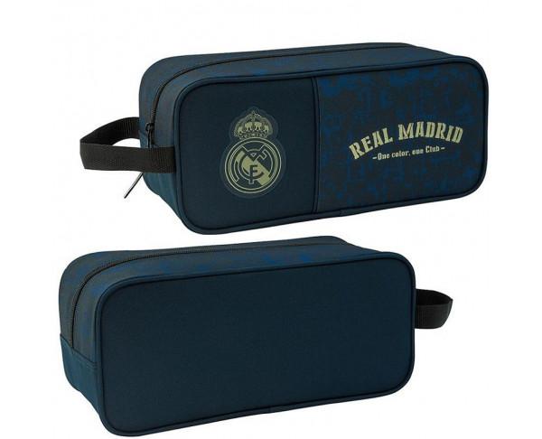 Bolsa zapatillero azul Real Madrid...