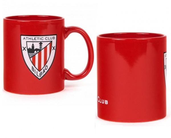 Taza de porcelana del Athletic Club de Bilbao