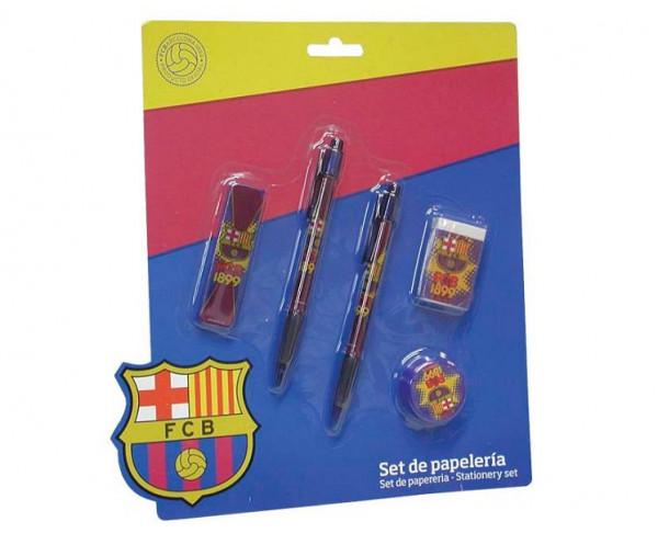 Conjunto escolar de regalo del FC Barcelona