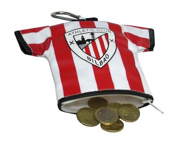 Monedero camiseta del Athletic Club de Bilbao