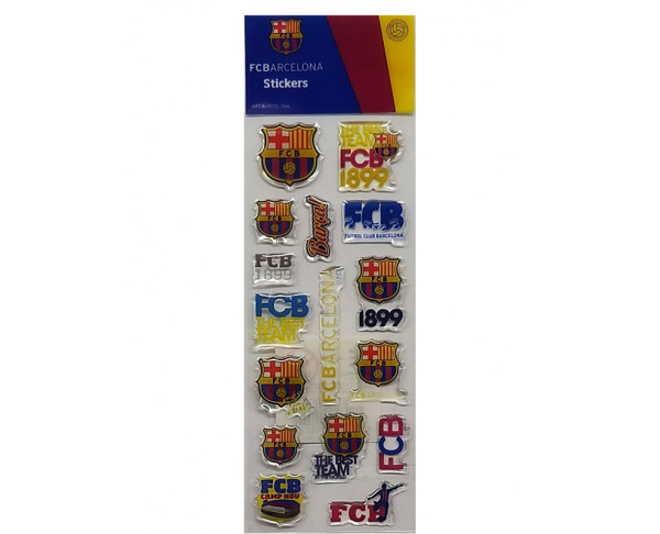 Pegatinas Stickers con relieve FC...