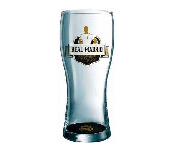 Vaso de cristal grande Real Madrid...