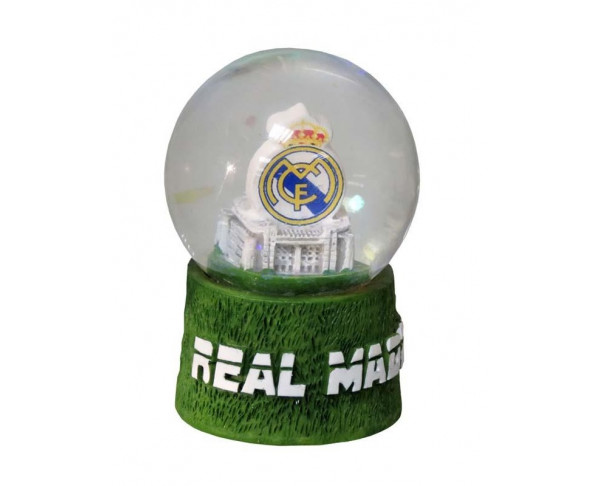 Bola de nieve Real Madrid escudo...