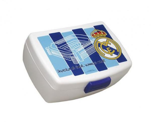Fiambrera Sadwichera hermética del Real Madrid