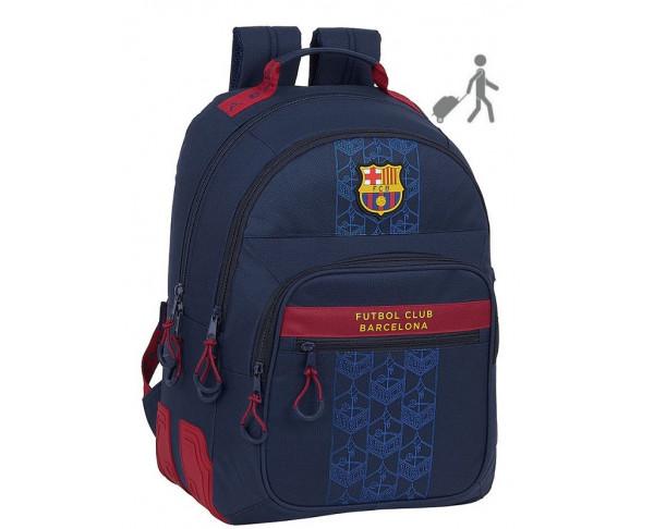 Mochila FC Barcelona grande con tres...