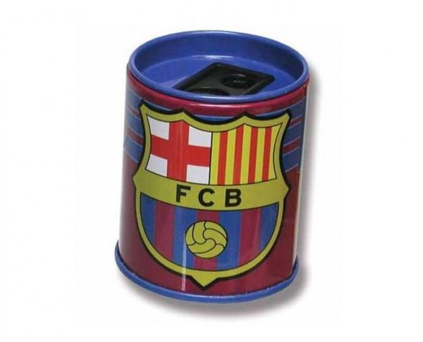 Sacapuntas FC Barcelona metálico dos diámetros