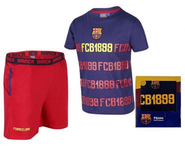 Pijama infantil manga corta FC Barcelona 1902