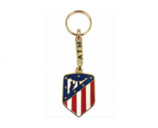 Llavero Atlético de Madrid Legend Vintage dorado