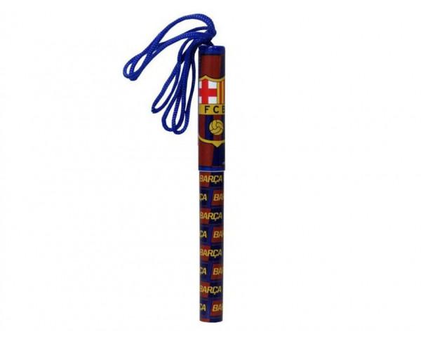 Bolígrafo FC Barcelona con cuerda para colgar