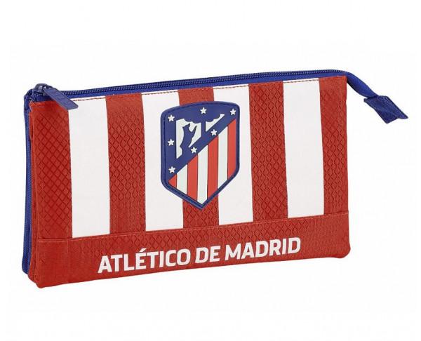 Estuche triple grande Atlético de Madrid