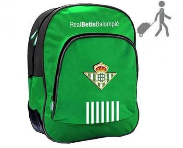 Mochila grande del Real Betis con base reforzada