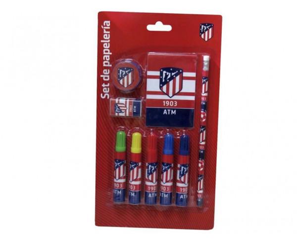 Pack infantil de regalo Atlético de Madrid 9 piezas