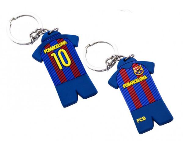Llavero Oficial FC Barcelona equipación azulgrana