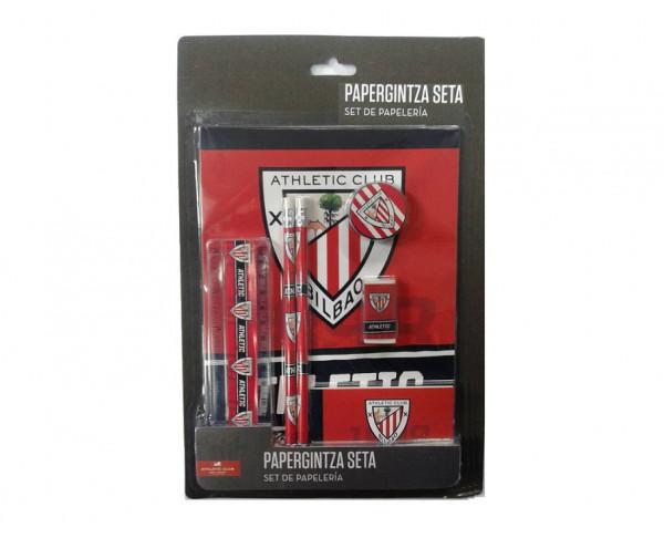 Conjunto escolar de regalo papeleria Athletic Club Bilbao