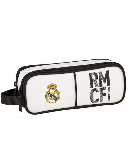 Estuche escolar Real Madrid dos departamentos