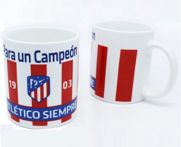 Taza de porcelana Atlético de Madrid Para un Campeón
