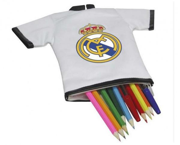Camiseta portatodo Real Madrid con cierre de cremallera